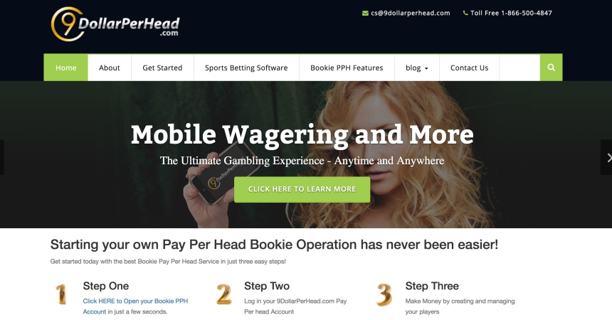 9DollarPerHead Pay Per Head Bookie provider