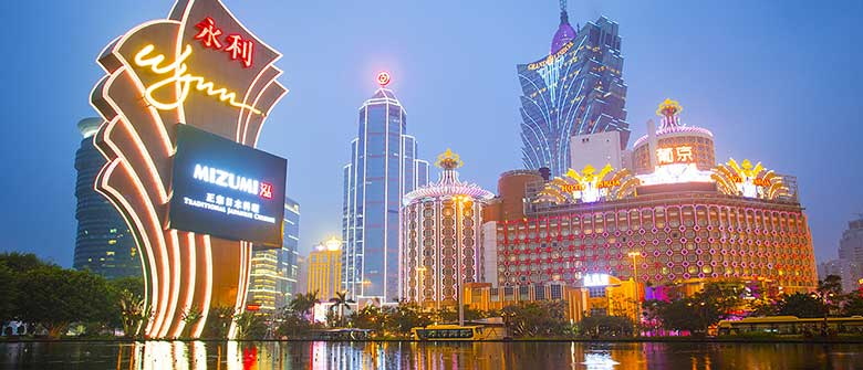 Macau Gambling Revenue Rises for 2nd Straight Year