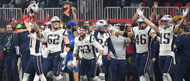 Patriots Win Super Bowl LIII 13-3