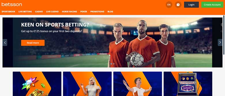 Betsson Casino Review